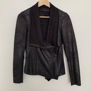 Zara | Faux Suede Jacket